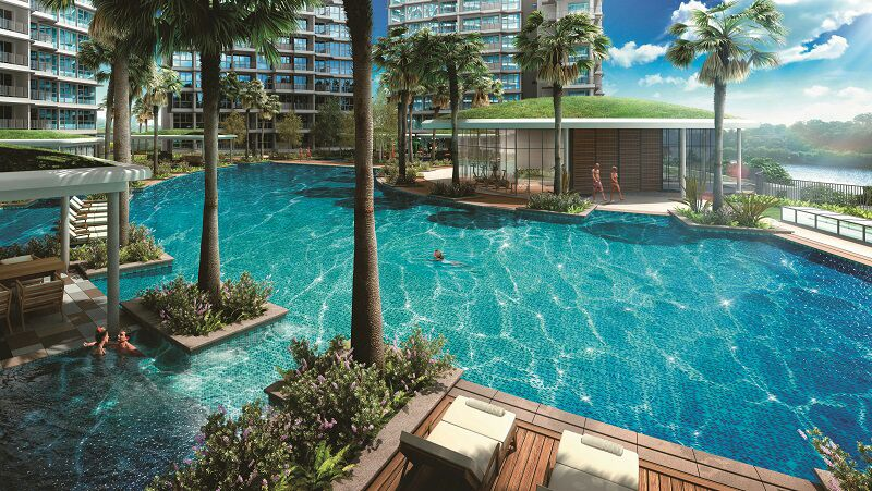 Rivertrees Residences Pool View